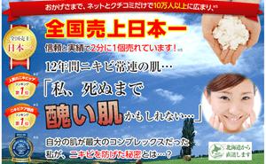 ニキビケア化粧品「みんなの肌潤糖(クリア)」a